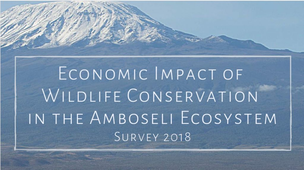 Economic Impacts of Wildlife Conservation in the Amboseli Ecosystem
